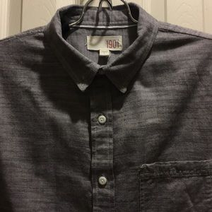Men's 1901 Gray Shirt Size L